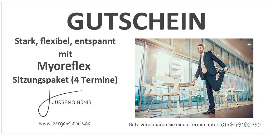 Myoreflex Gutschein- 4 Termine