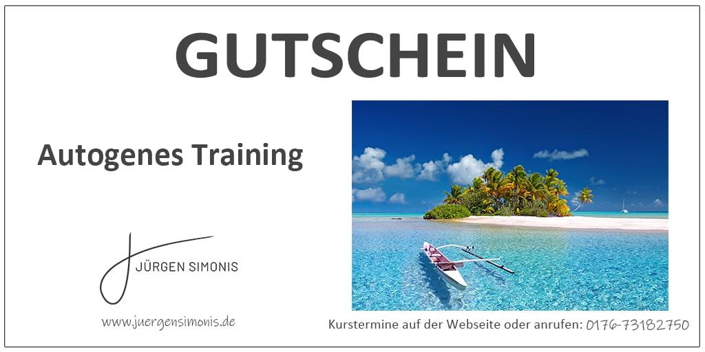 Gutschein Autogenes Training