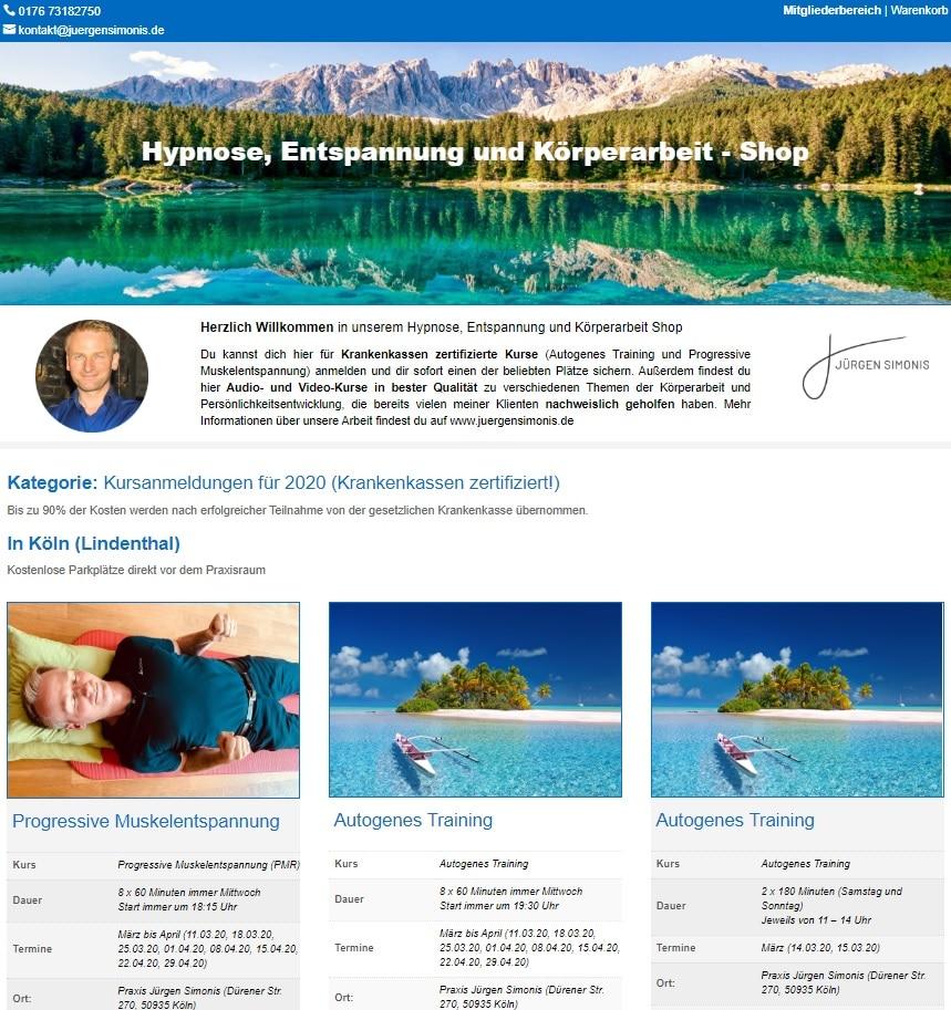 Hypnose-Online-Shop